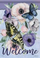 Butterfly Collection Garden Flag