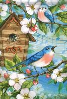 Spring Song Garden Flag