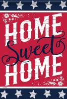 Home Is Sweet Garden Flag