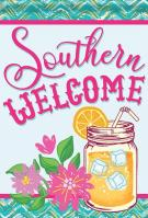 Southern Sweet Tea Garden Flag