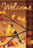 Beautiful Finch Garden Flag