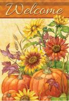 Fall Natures Tapestry House Flag