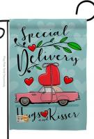 Special Delivery Garden Flag