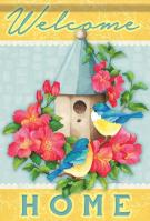 Bluebird House House Flag