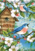 Spring Song House Flag