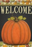 Give Thanks Pumpkin House Flag
