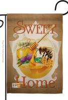 My Bee Sweet Home Garden Flag