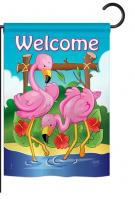 Flamingos Garden Flag