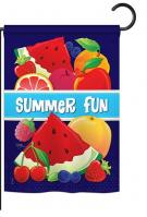 Summer Fun Garden Flag