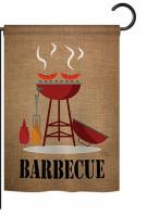Barbecue Garden Flag