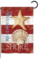 Welcome to the Shore Garden Flag