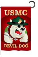 Devil Dog Garden Flag