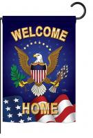 Welcome Home Garden Flag