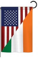 US Irish Friendship Garden Flag