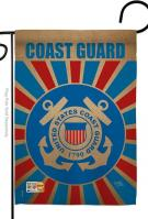 Coast Guard Decorative Garden Flag