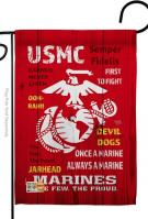 USMC Decorative Garden Flag