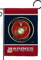 Proud Marine Corps Decorative Garden Flag
