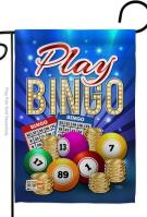 Play Bingo Decorative Garden Flag