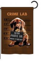 Crime Lab Garden Flag