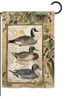 Ducks and Geese Garden Flag