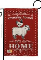 Country Friends Decorative Garden Flag