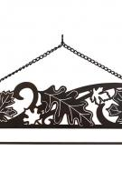 Autumn Leave Laser Cut Wall Hanger