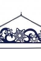 Snowflakes Laser Cut Wall Hanger