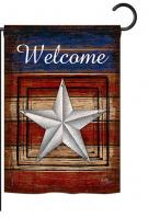 Vintage Welcome Garden Flag