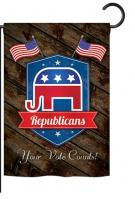 Republicans Garden Flag