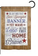 Star Spangled Pride Garden Flag