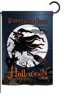 Happy Witching You Garden Flag