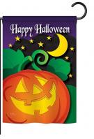 Halloween Night Garden Flag