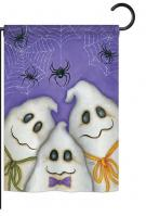 3 Ghosts Garden Flag