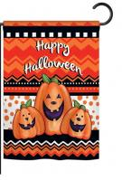 Halloween Trio Garden Flag