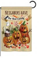 Neighbors Candy Garden Flag