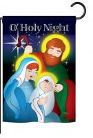 O\' Holy Night Garden Flag