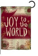 Joy to the World Decorative Garden Flag