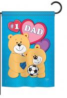 Love Dad Garden Flag
