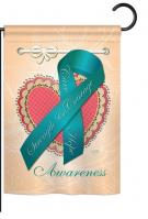 Ovarian Awaress Garden Flag