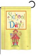 School Days Decorative Garden Flag