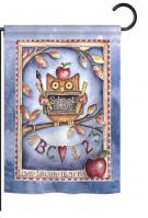 Owl Live Laugh Learn Garden Flag
