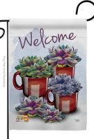 Welcome Decorative Garden Flag