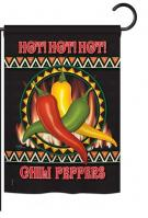 Chili Peppers Garden Flag