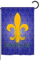 Bienvenue Garden Flag