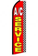 AC Service Feather Flag 2.5\' x 11\'