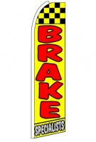 Brake Specialists (V2) Feather Flag 3\' x 11.5\'