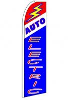 Auto Electric Feather Flag 2.5\' x 11\'