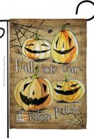 Fall Into Our Pumpkin Patch Garden Flag