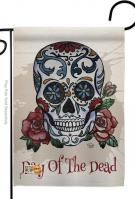 Day Of The Dead Garden Flag
