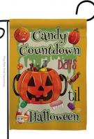 Candy Countdown Garden Flag